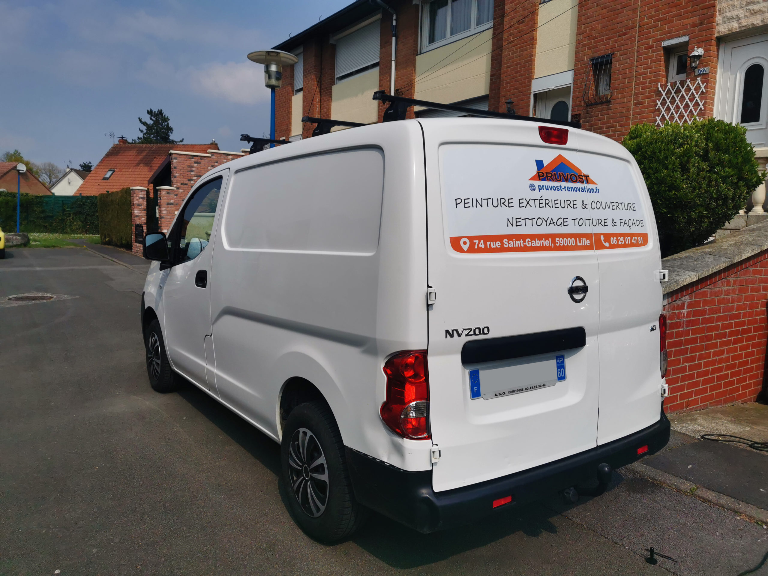 marquage camion pruvost